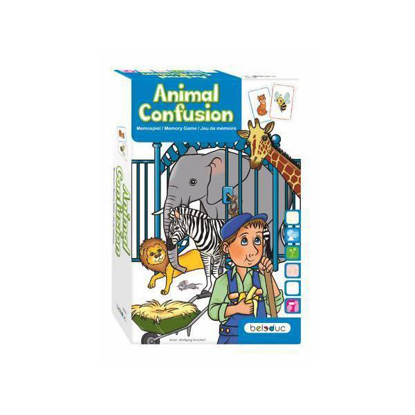 Joc De Carti Educativ Animal Confusion 1