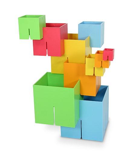 Joc de constructie Cuburi DADO Original - Fat Brain Toys [0]