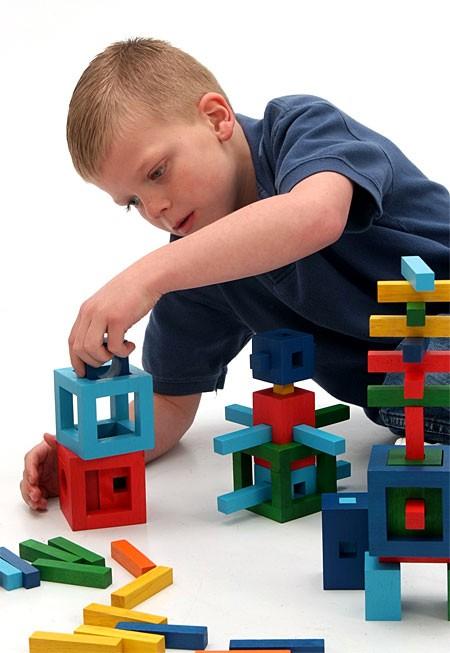 Joc de constructie IQ Twig - Fat Brain Toys [3]