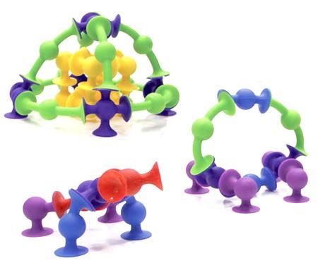 Joc de constructie Squigz Starter Set - Fat Brain Toys 2
