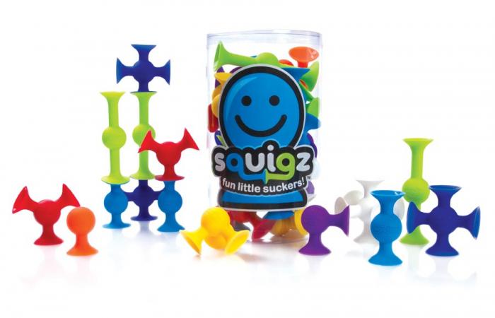 Joc de constructie Squigz Starter Set - Fat Brain Toys 5