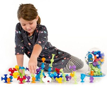 Joc de constructie Squigz Starter Set - Fat Brain Toys 3