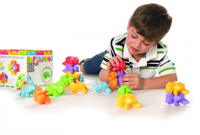 Joc de constructie Testoasele - Fat Brain Toys 11