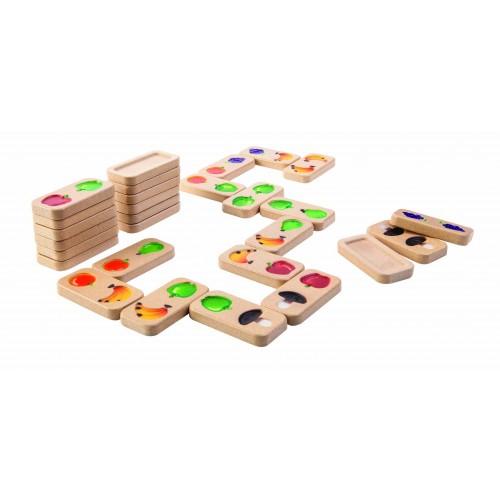 Joc de domino cu fructe si legume [0]