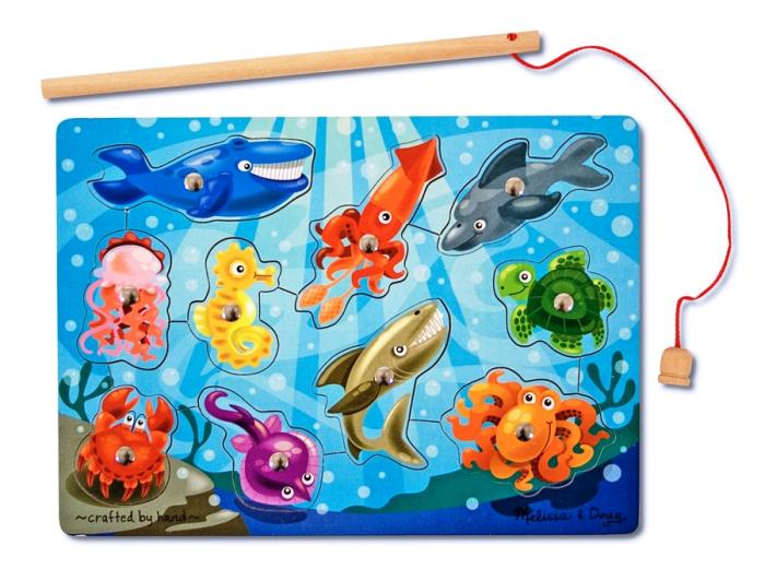 Joc de pescuit magnetic Animale marine [0]