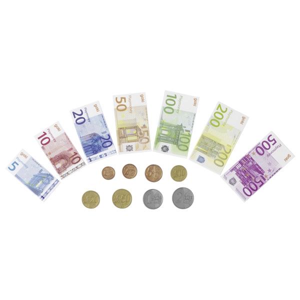 Pachet joc de rol: Bancnote si monede Euro 1