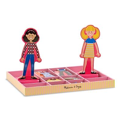 Joc din lemn Imbraca-le pe Abby si Ema [1]