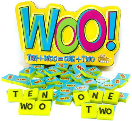Joc educativ cu litere si numere Woo - Fat Brain Toys 0