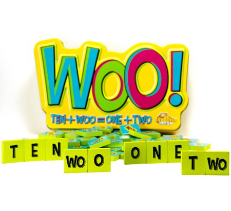 Joc educativ cu litere si numere Woo - Fat Brain Toys 2
