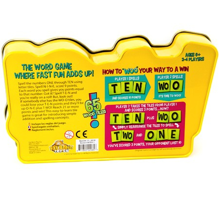 Joc educativ cu litere si numere Woo - Fat Brain Toys 1