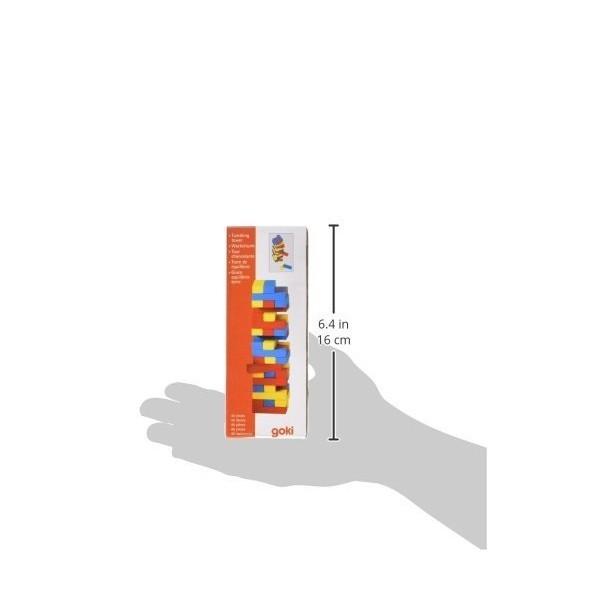 Joc Jenga cu piese din lemn in culori [2]