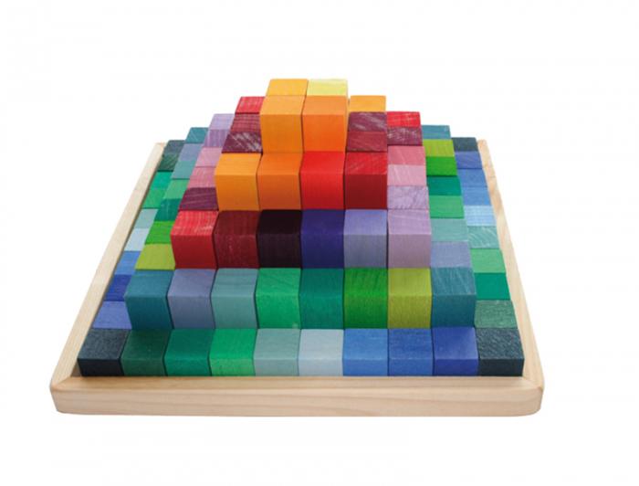 Joc piramida 100 piese 0