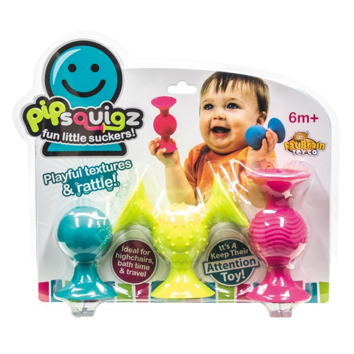 Jucarie bebelusi pipQsuigz - Fat Brain Toys 1