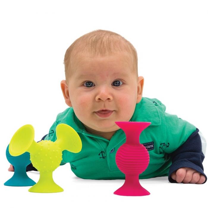 Jucarie bebelusi pipQsuigz - Fat Brain Toys 4