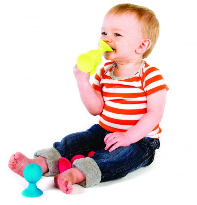 Jucarie bebelusi pipQsuigz - Fat Brain Toys 8