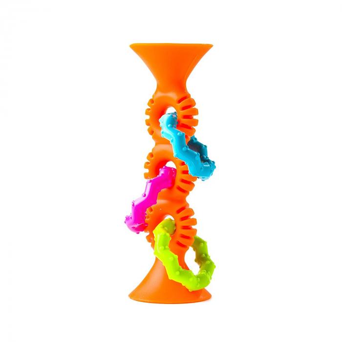 Jucarie bebelusi pipSquigz Loops Orange [0]
