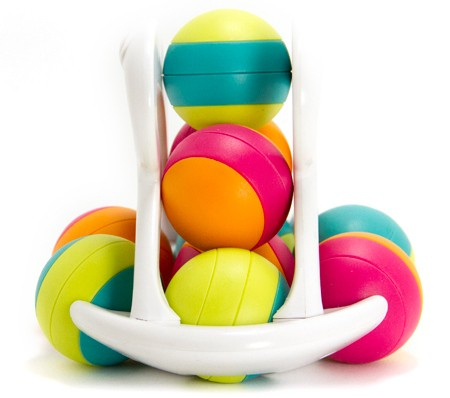 Jucarie distractiva cu bile Rollio - Fat Brain Toys 3