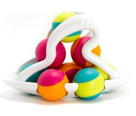 Jucarie distractiva cu bile Rollio - Fat Brain Toys 2