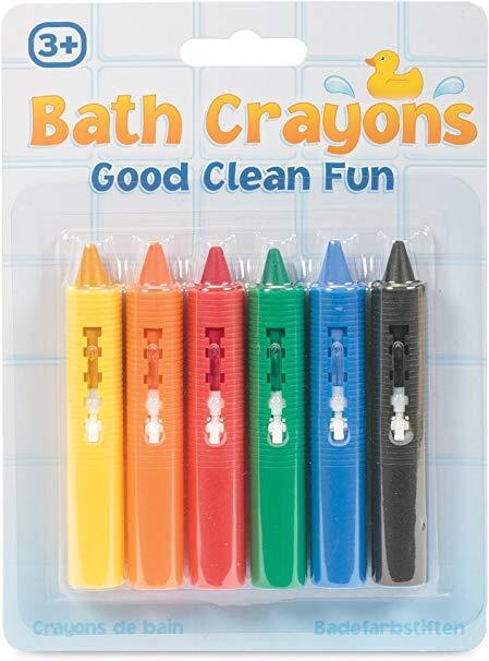 Jucarie pentru baie - Creioane colorate 2