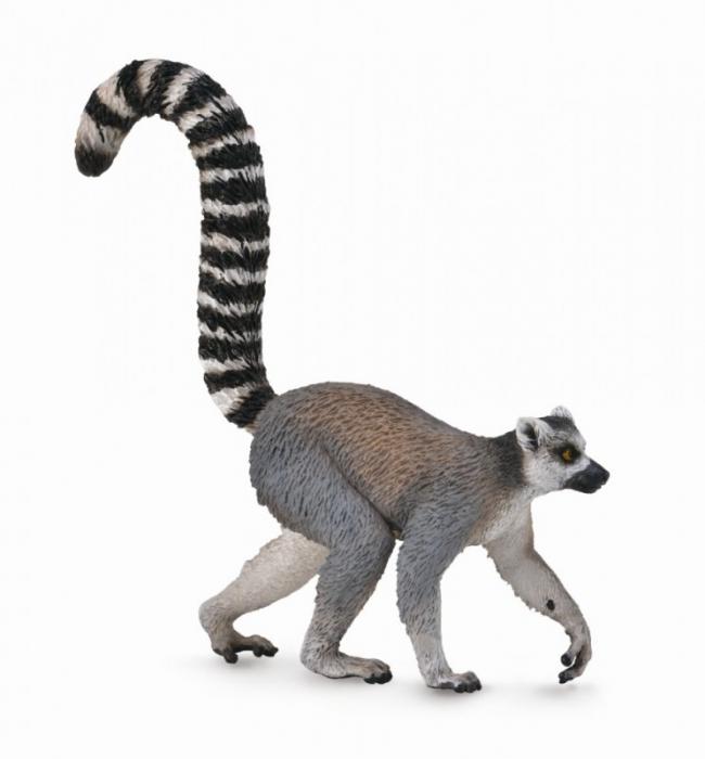 Lemur cu coada-inel - Animal figurina [0]