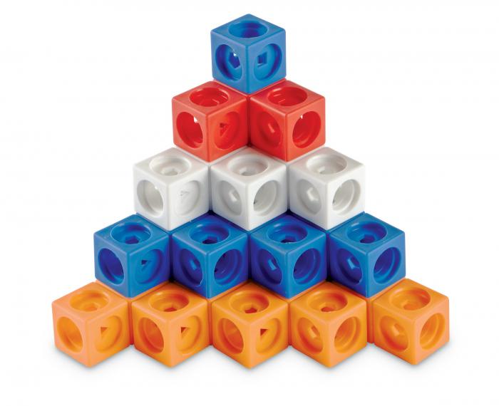 Set MathLink - Constructii 3D din cuburi interconectabile 0