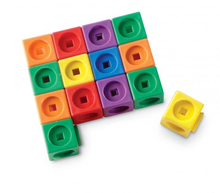 Set MathLink - Constructii 3D din cuburi interconectabile 4