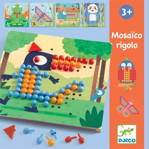 Mozaic rigolo - Joc cu piuneze 1