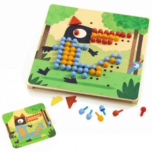 Mozaic rigolo - Joc cu piuneze 0