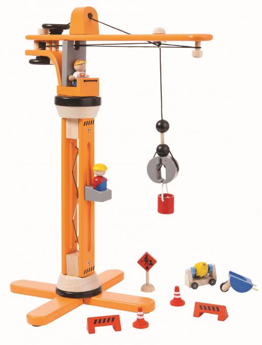 Macara din lemn pentru copii 0