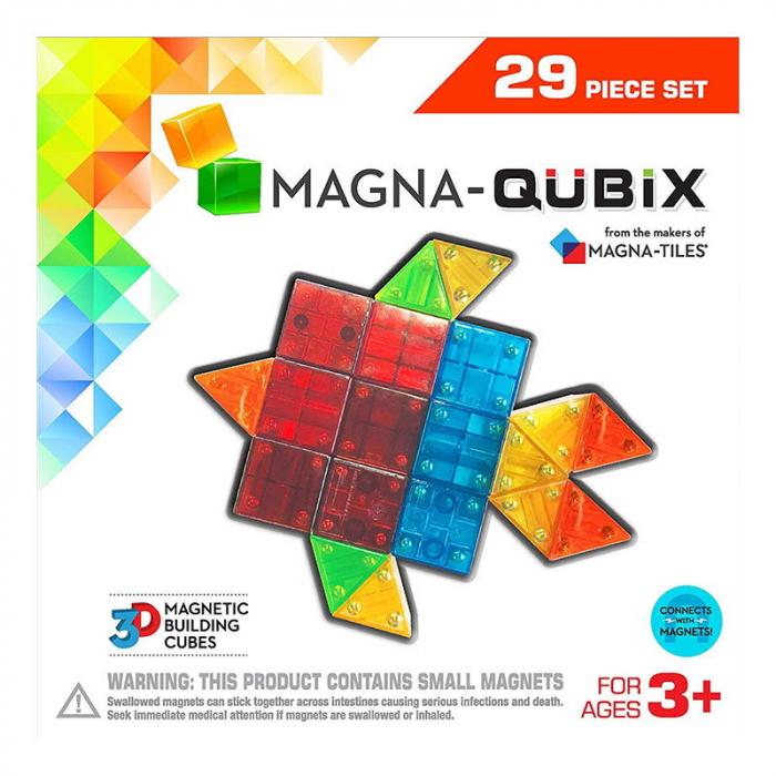 Magna-Qubix set magnetic 29 piese [0]