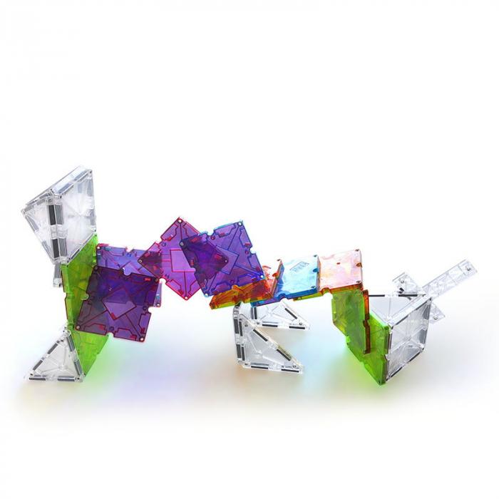 Magna-Tiles Freestyle cu magneti mobili - 40 piese 1
