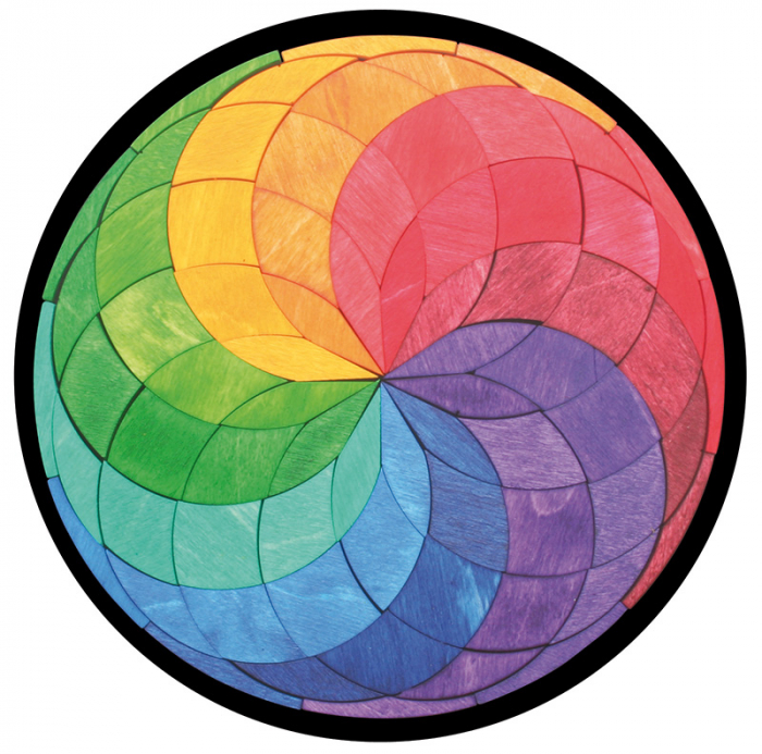 Mandala culorilor - puzzle magnetic [0]