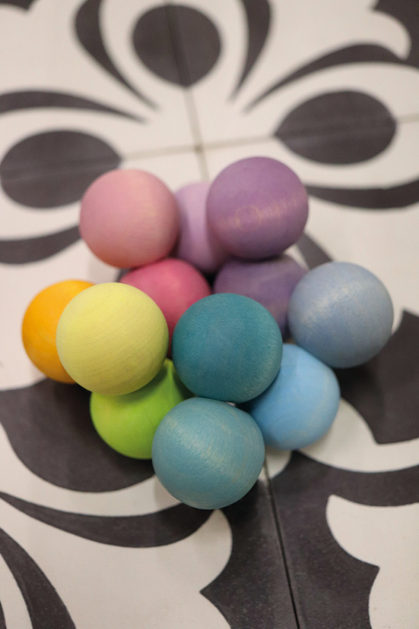 Margele pentru bebelusi pastel 1