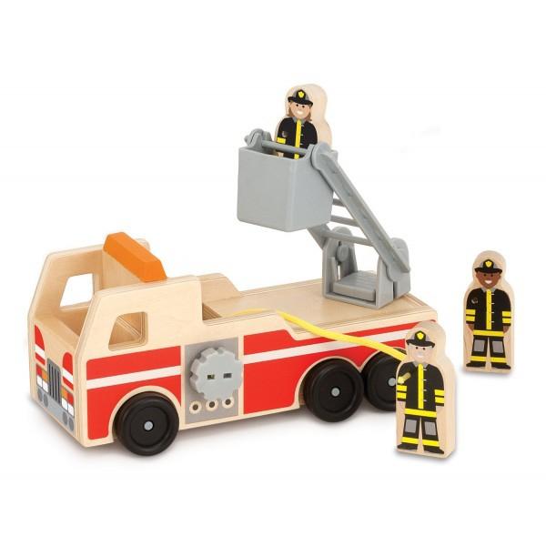 Masinuta de pompieri din lemn [0]