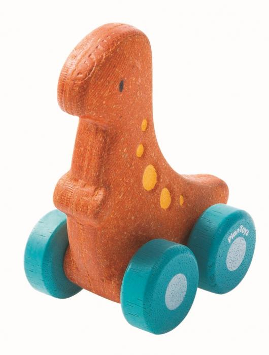 Masinuta dinozaur culoare portocaliu 0