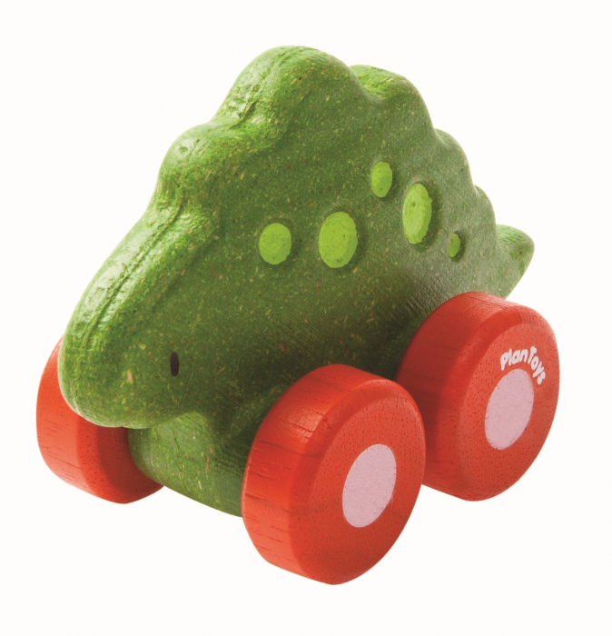 Masinuta dinozaur culoare verde [0]