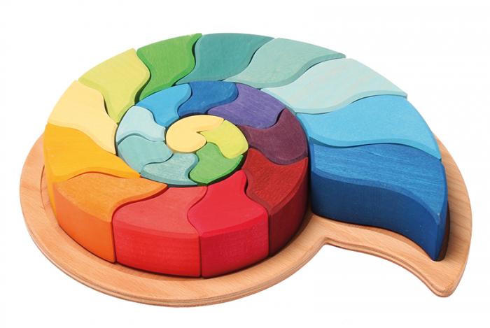 Melc - puzzle senzorial si creativ 1