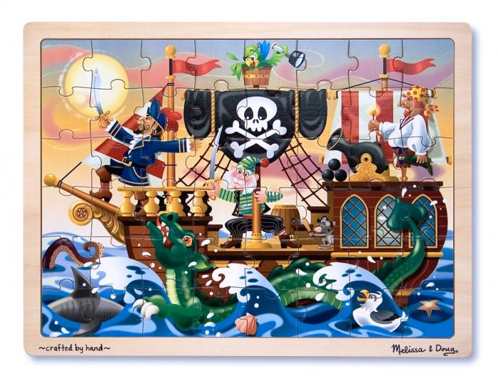 Puzzle lemn Aventura Piratilor [0]