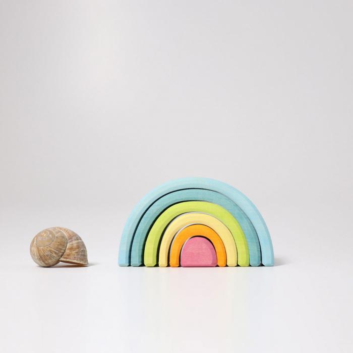 Micul curcubeu nuante pastel 1