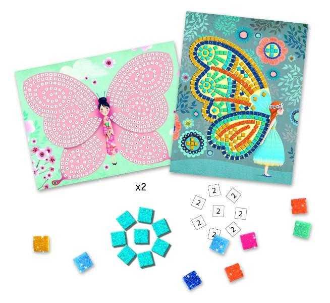 Mozaic cu fluturi - Set indemanare si creativitate [2]