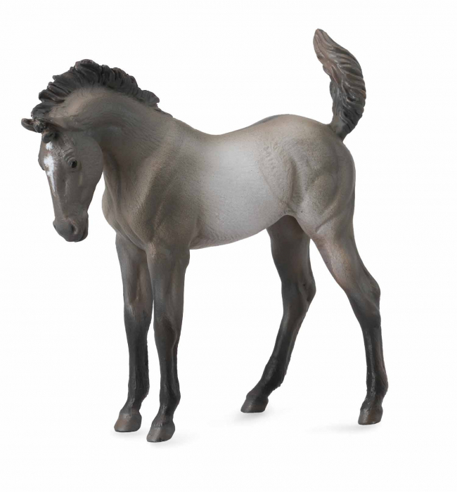 Mustang - Grulla manz - Animal figurina 0
