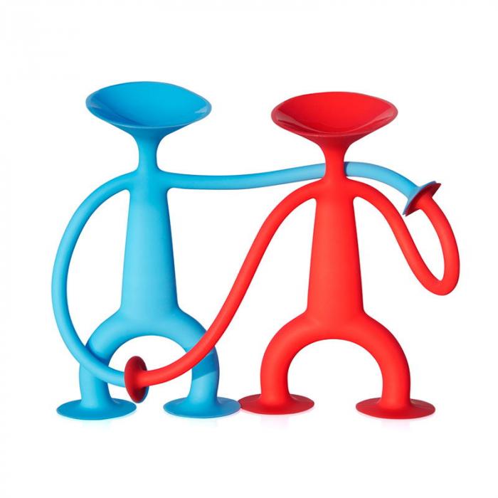 Oogi - Omuletul flexibil cu ventuze - Albastru 4