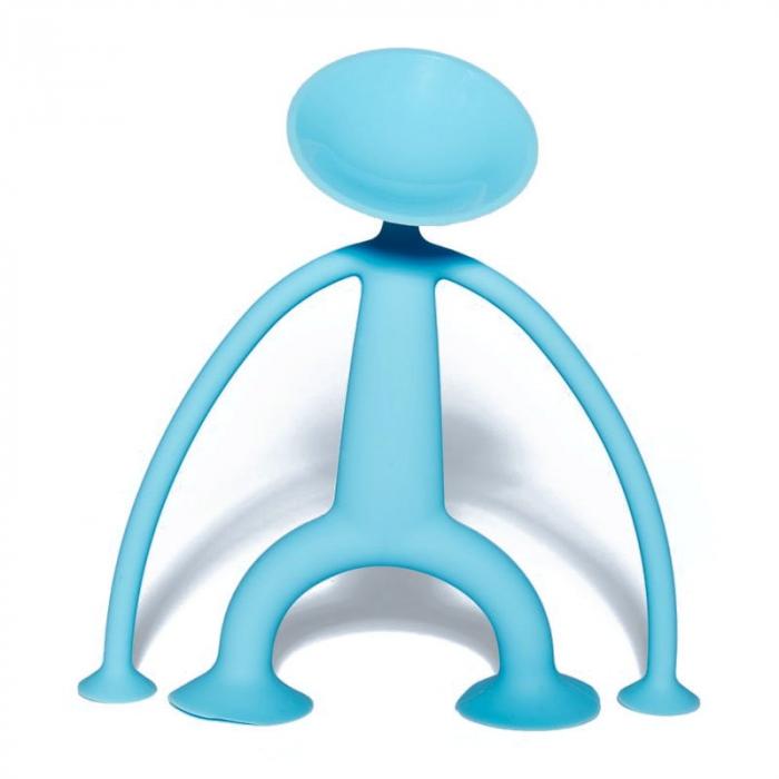 Oogi - Omuletul flexibil cu ventuze - Albastru 3