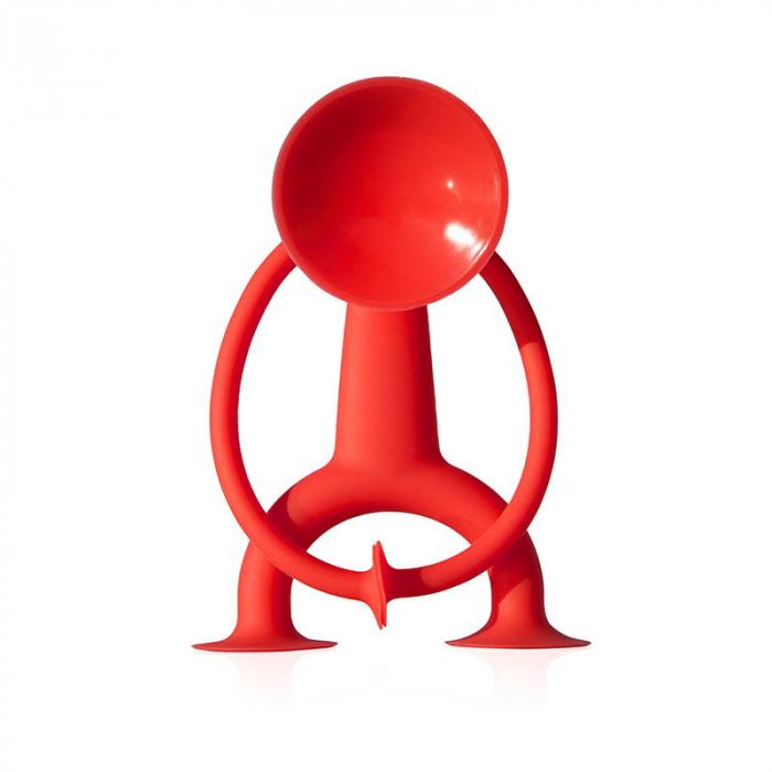 Oogi - Omuletul flexibil cu ventuze - Rosu 2