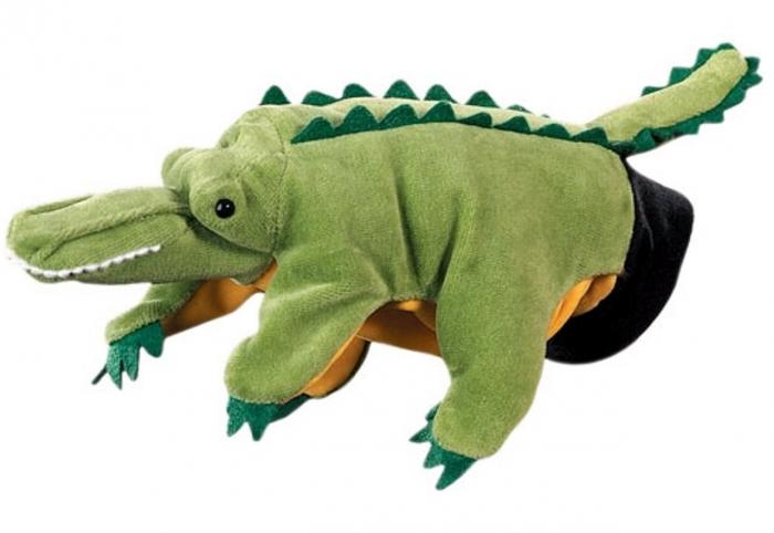 Papusa de mana Crocodil [0]