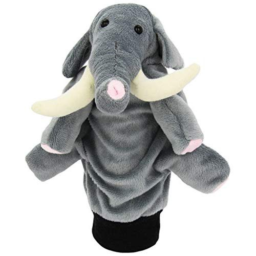 Papusa De Mana Elefantel 0