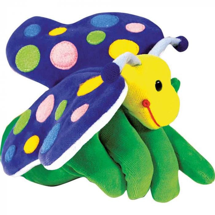 Papusa de mana Fluture 0