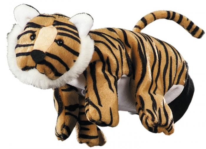 Papusa de mana - Tigru 0