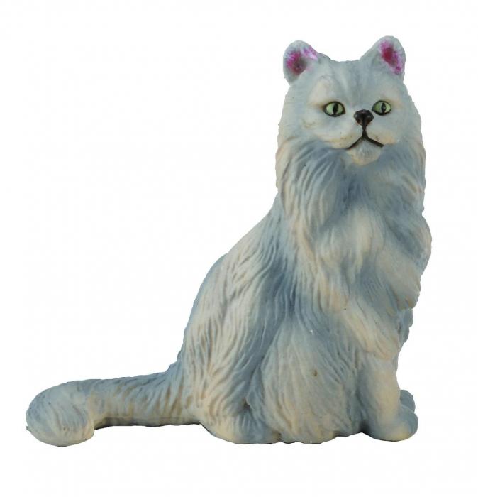 Pisica Persana-sezand S Animal figurina [0]