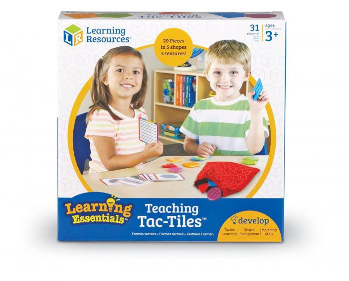 Placute texturate - Set educativ Tac-Tiles